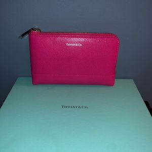NEW Tiffany & Co Zip Pouch